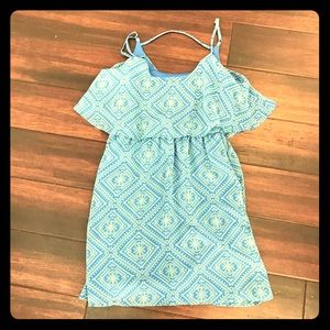 Mimi Chica Spaghetti strap ruffle dress. M